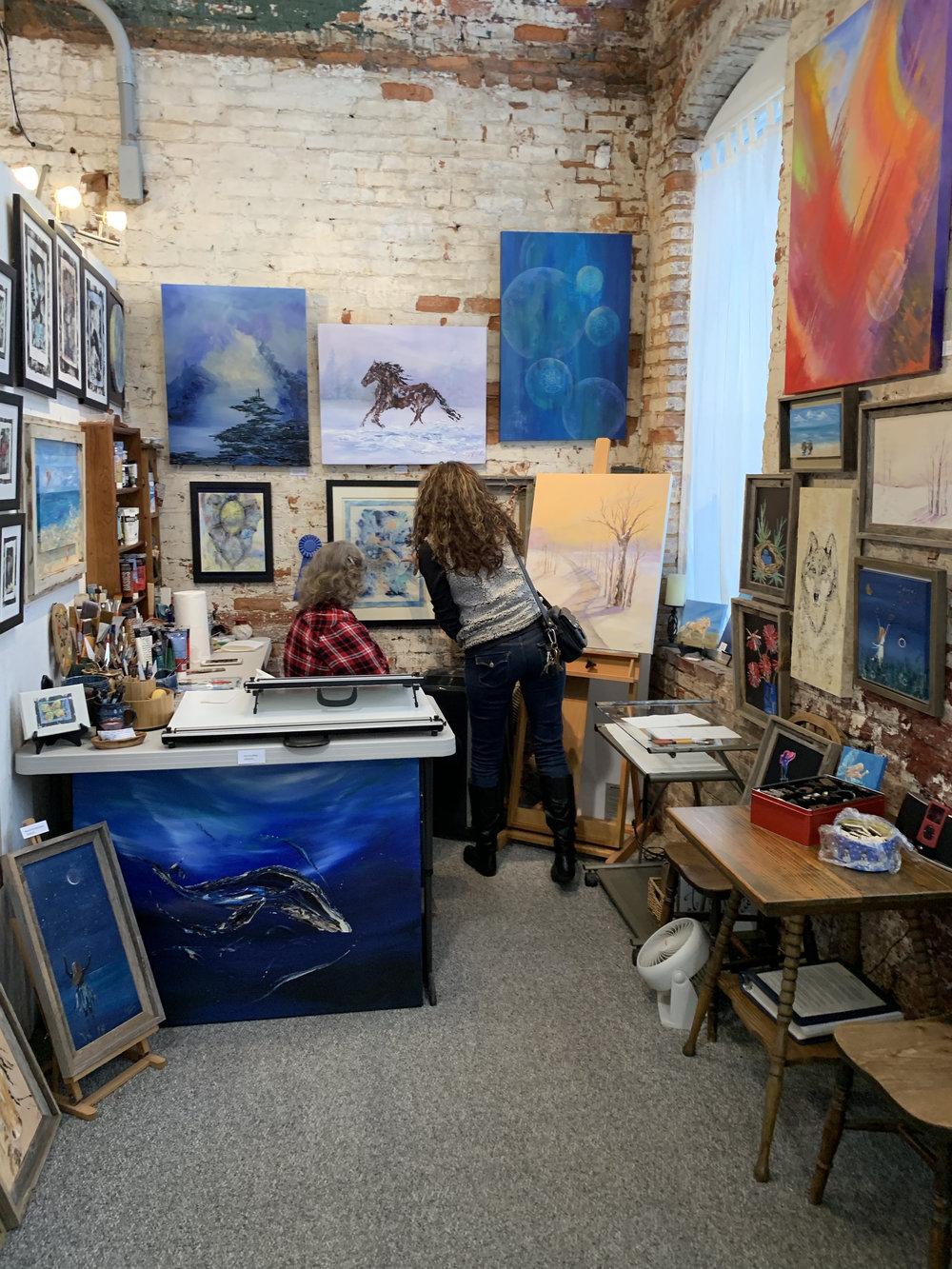 Christine Canova- Studio # 101