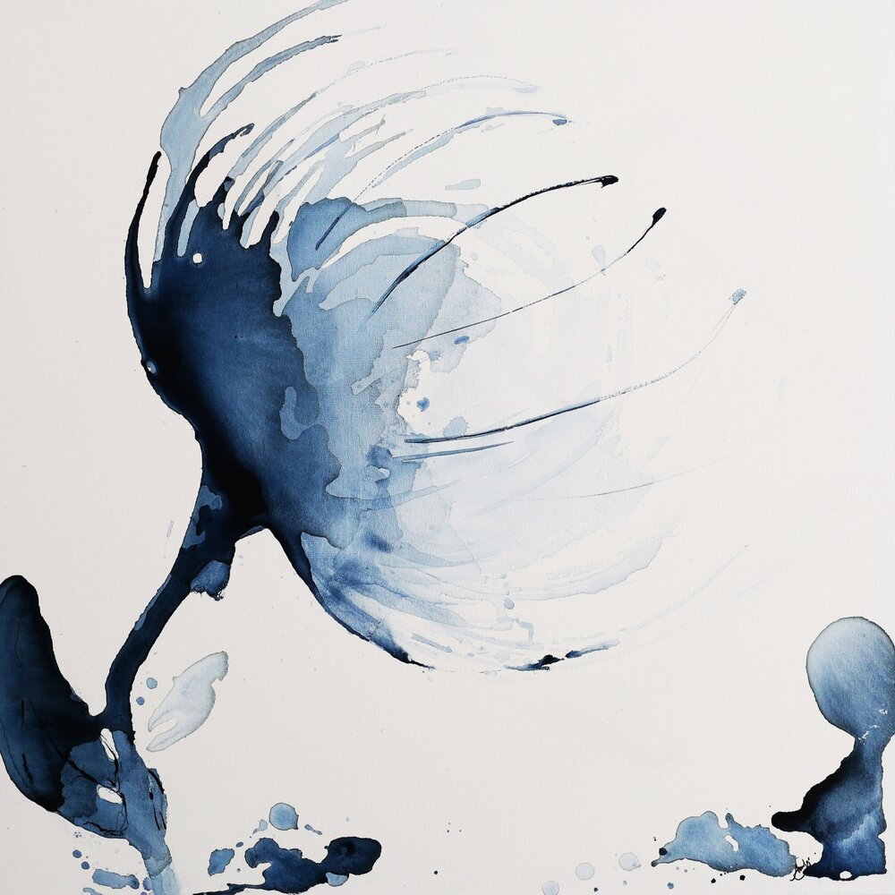 Anita Martinez_Platinum_ Ink on Canvas_36x36_ $1,296 .jpg