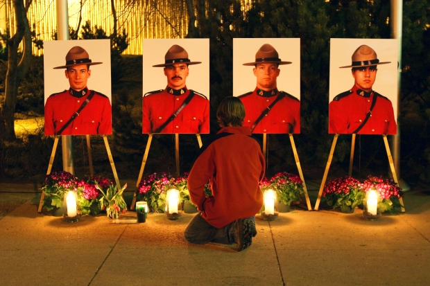 Peter Schiemann, Leo Johnston, Brock Myrol, Anthony Gordon, ambushed, murdered and mourned. March 3, 2005