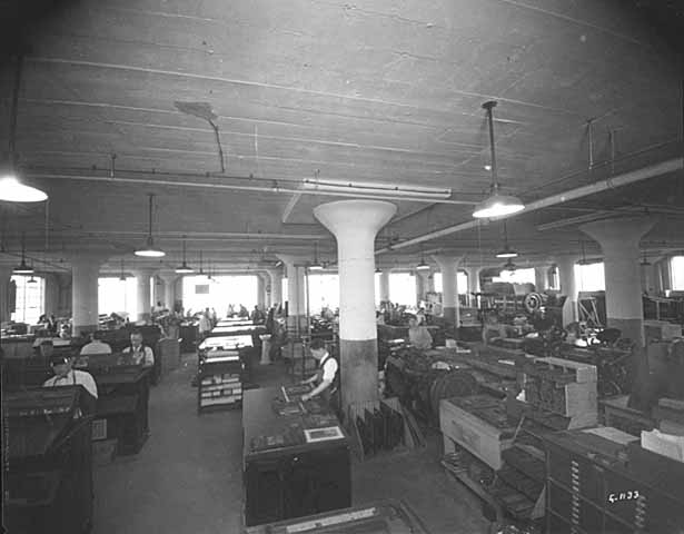 Copy of Printing advertising novelties at the Dow Building
