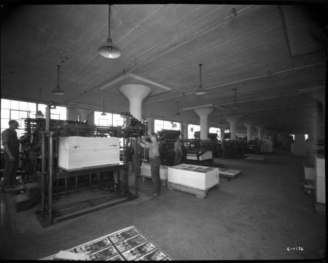 Printing advertising novelties, 1925