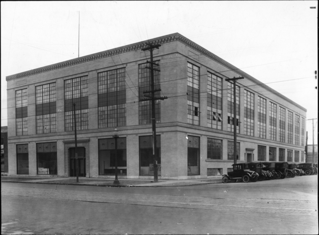 A Rich Creative History - The Dow Building Circa 1923