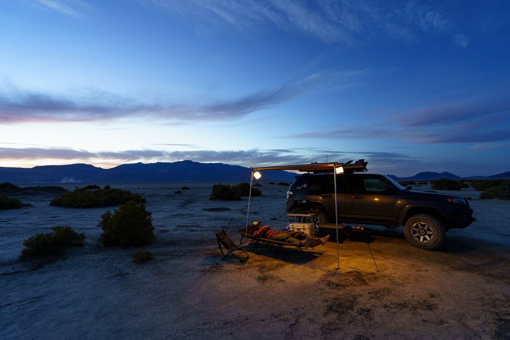 Desert Nights with MPowered Lights