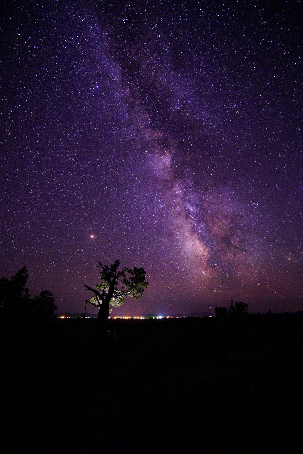 Milky Way Setting Over Camp