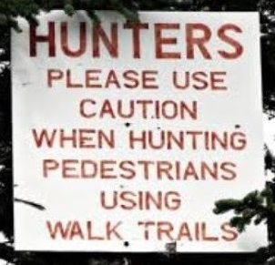 Are the pedestrians being hunted?