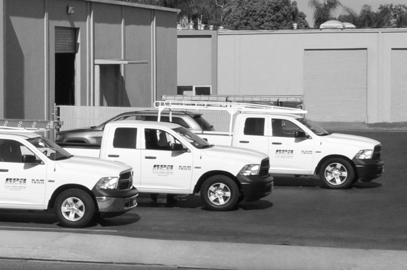 Emergency Service Response - Communicating effectively with customers and our roof technicians ensures prompt response and accurate billing.