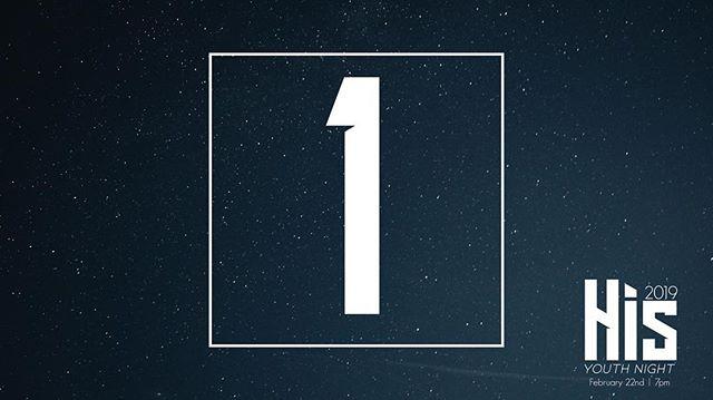 ONE DAY!! #hisyouthnight19
