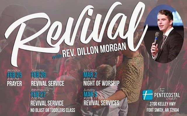 No youth service tonight as we are continuing our Revival with Rev. @dmrgn. Invite all your friends and join us in the main sanctuary at 7pm.
