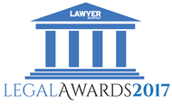Winner, Lawyer Monthly: Agribusiness, Food and Beverage – Lawyer of the Year - New Zealand, 2017