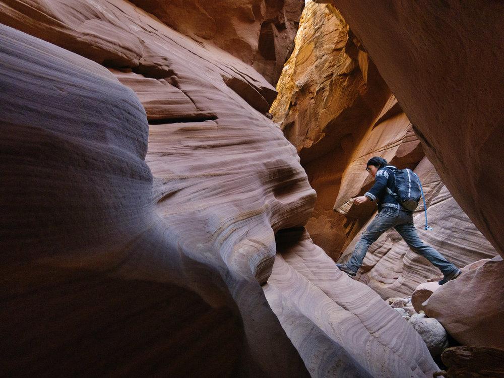 Canyoneering in the San Rafael Swell