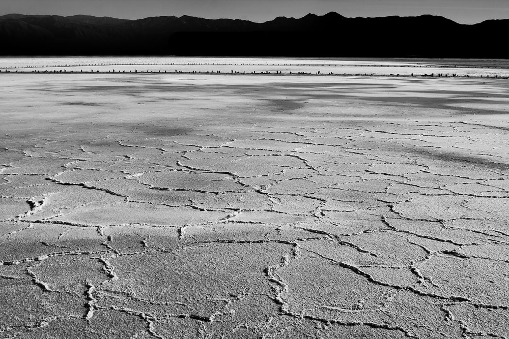 Saline Valley Salt Flats