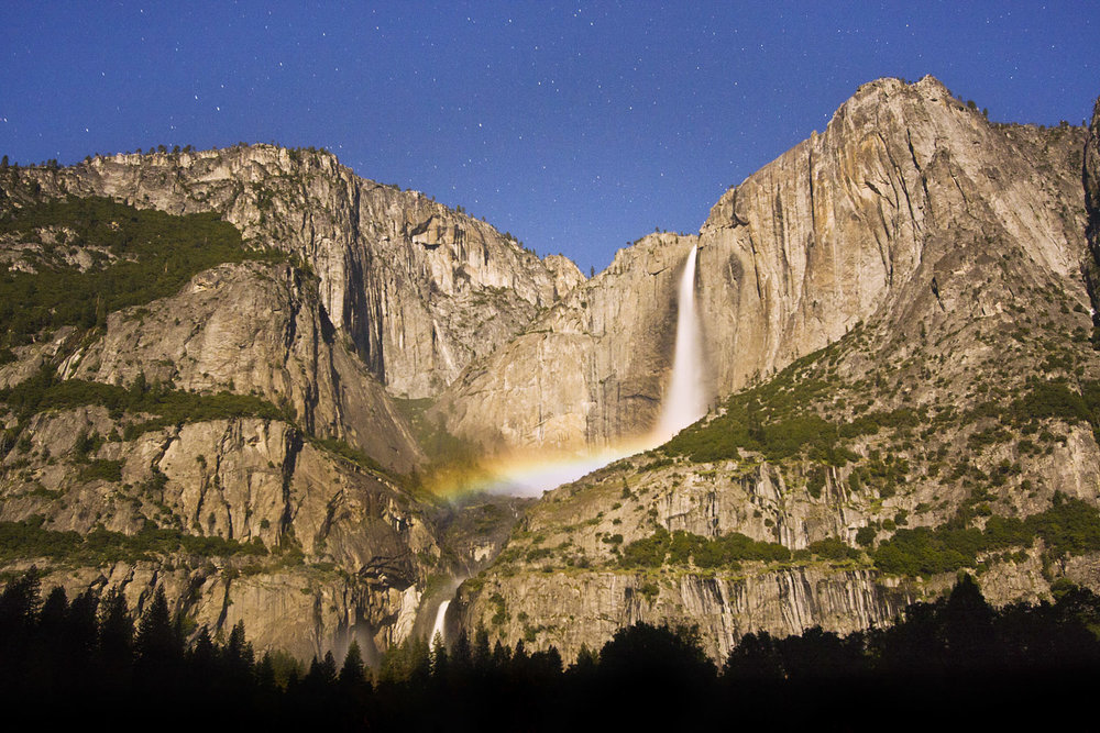 Moonbow on Yosemite Falls