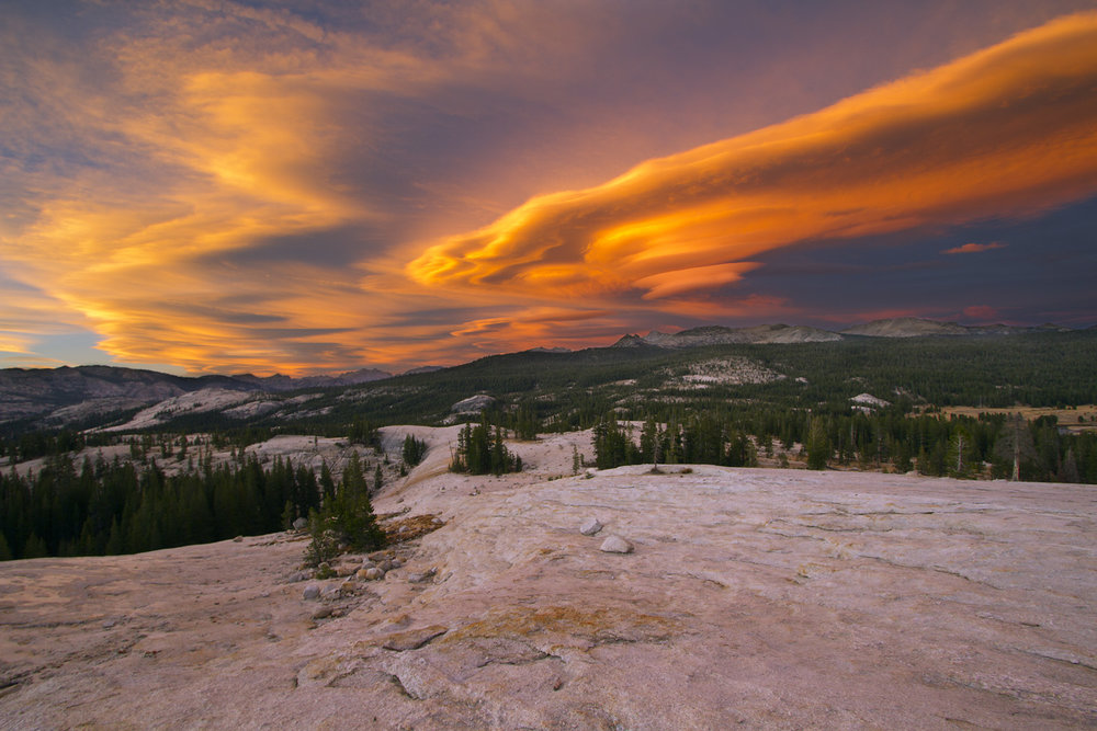 Sierra Wave Cloud over Tuolumne Meadows