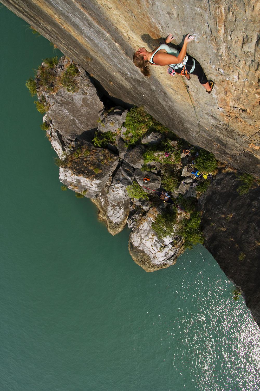 Climber on 'License to Climb'