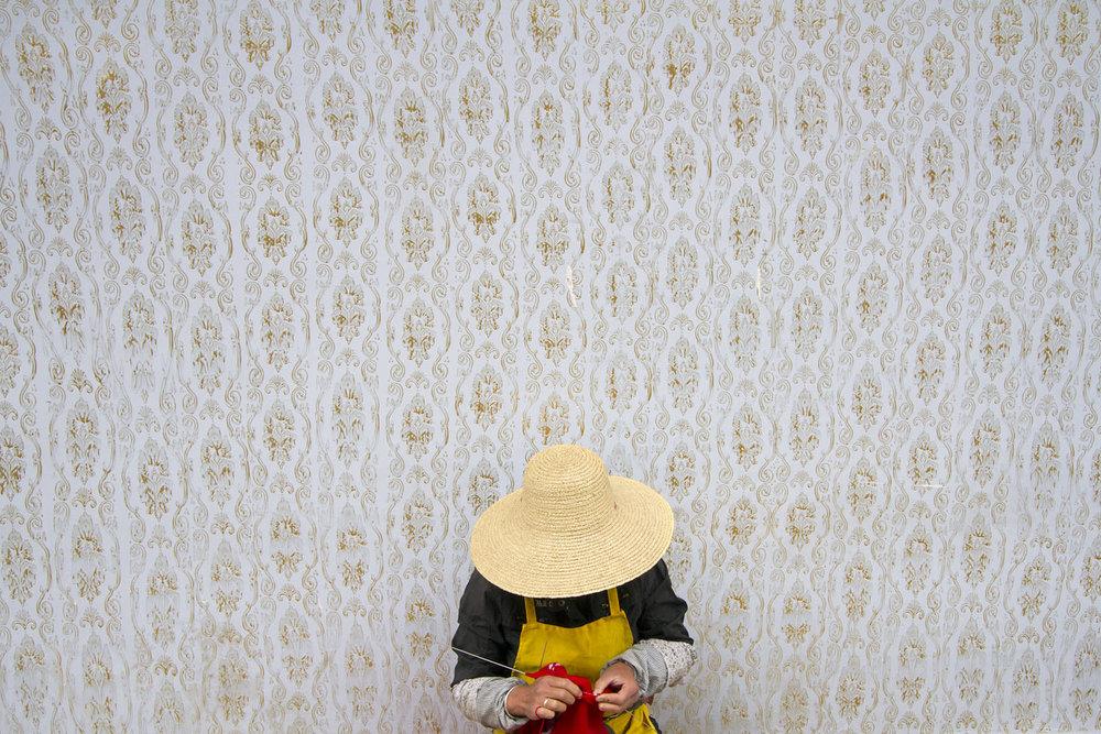 The Knitting Woman