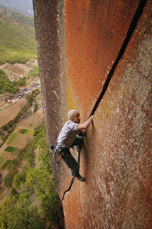 Climber on Scarface II