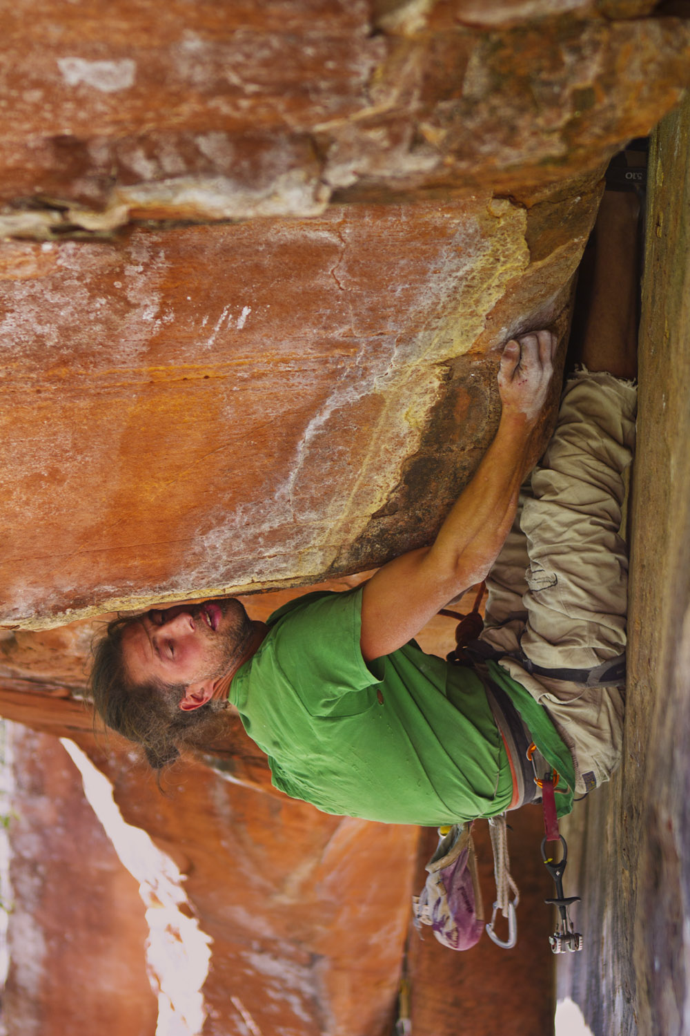 Climber Battles it out on 'Over the Rainbow'
