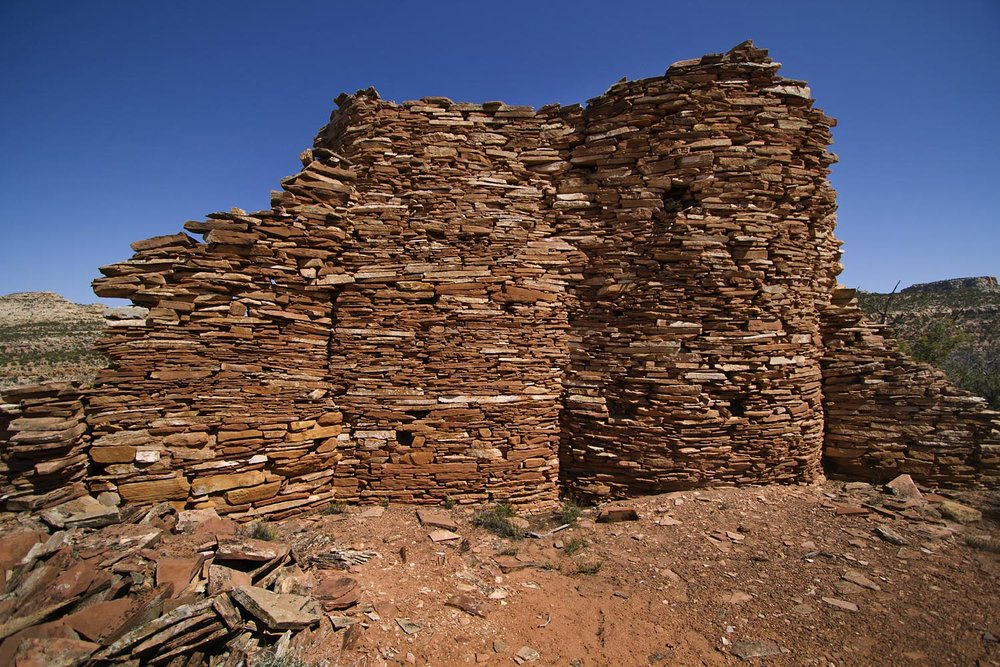 A ruins in an area that would lose Monument status near Indian Creek.