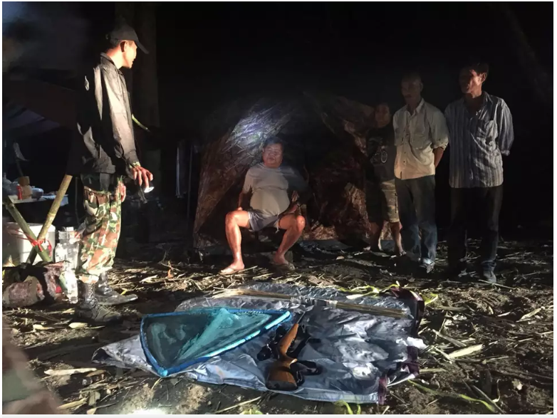 "- Thai authorities place business tycoon Premchai Karnasuta (sitting) and three of his alleged associates under arrest at a hunting camp in Thungyai Naresuan Wildlife Sanctuary in Kanchanaburi province, Feb. 4, 2018 (photo courtesy of Thungyai Naresuan Wildlife Sanctuary)After the poaching incident, it has come out that Karnasuta's company, ITD, has plans to build a 93 mile road through some pristine wilderness areas starting at the Thai border, and ending in a planned special economic zone in Myanmar. The road would cut through an area that is home to many endangered and threatened species, such as tigers, elephants, and leopards. Lee Poston, of WWF, said: ""The road…will be disastrous for many of the rare, endemic species in this wilderness.In the preliminary hearing in March, Karnasuta denied all charges. The full trial is currently set for November 2018."