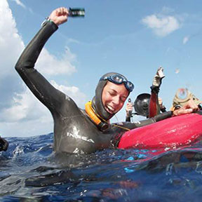 ASHLEY CHAPMAN   Instructor Level : Intermediate Freediver Instructor  Location:  Wilmington, NC USA