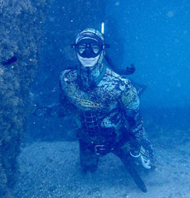 JARRAD THOMASON   Level:  Freediver Instructor  Location:  Palm Beach, FL, USA