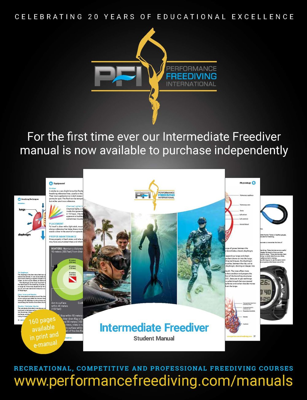 Click on the image to be taken to the  PFI Online Store  to view manual options.