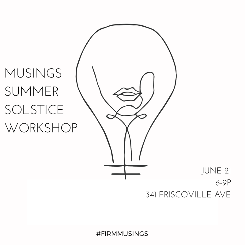 M  usings  has a  workshop