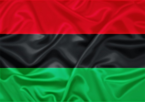 Pan African Flag: This is the flag that unites all people of the African diaspora.