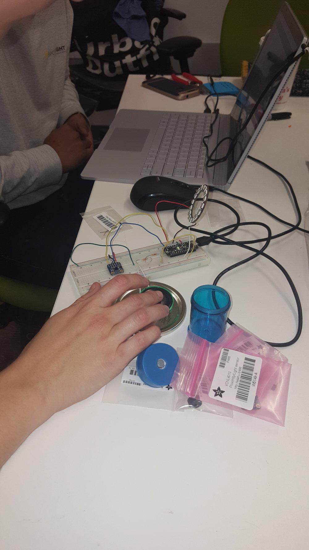 Programing in Arduino