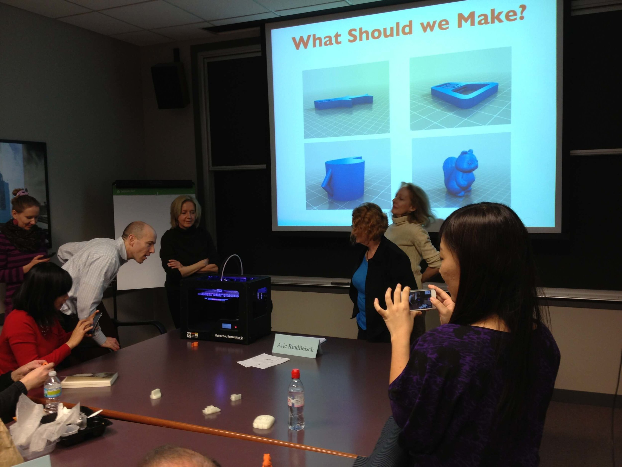 Chicago-area marketing faculty captivated by 3D printing.