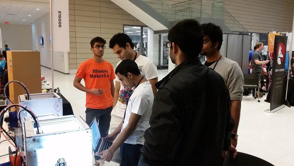Our Guru, Pranay, at work