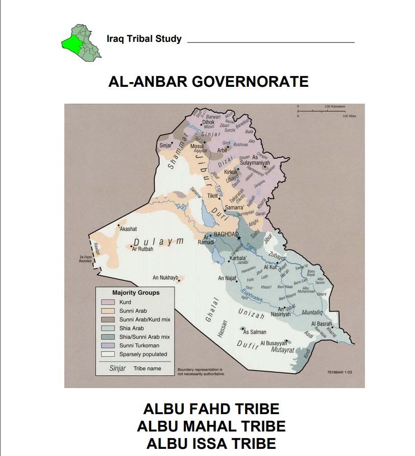 Iraq Tribal Study