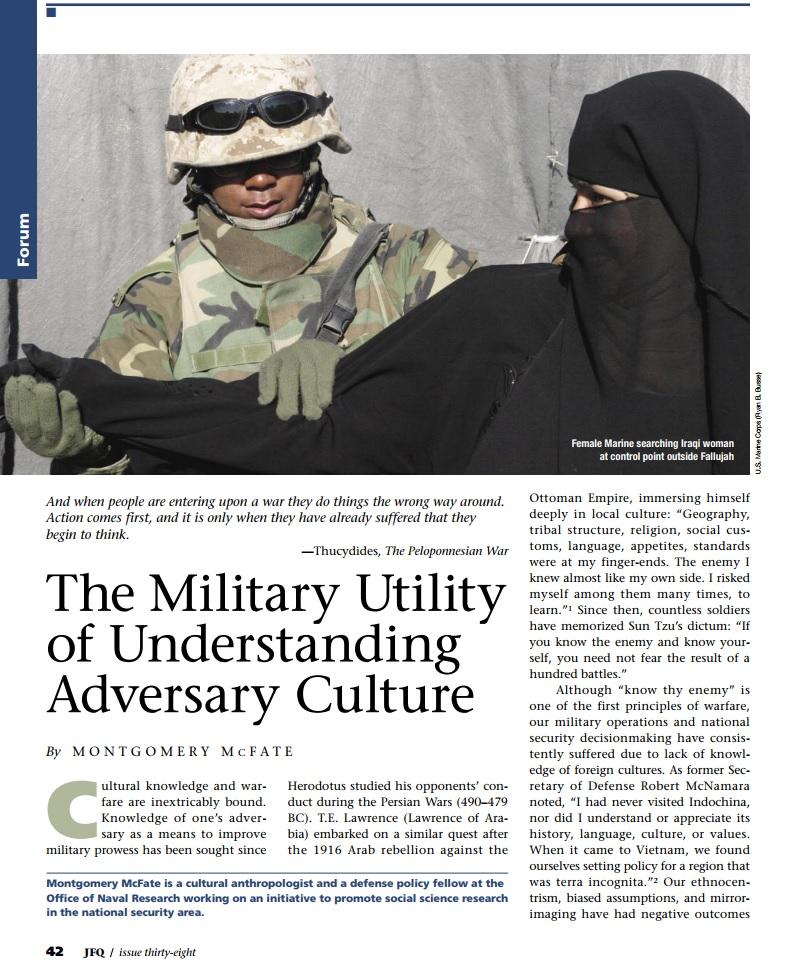 Military Utility