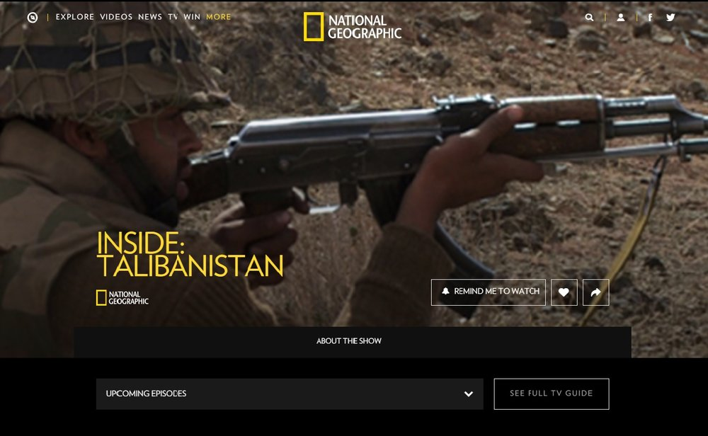 National Geographic Talibanistan