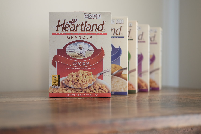 Heartland® Branding — Tumpled