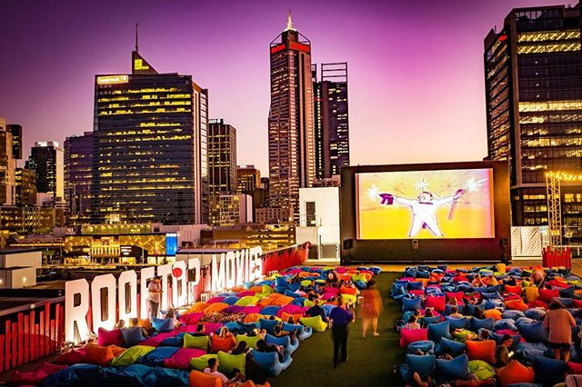 🌟 And that's a wrap! Thanks for joining us this season. Rooftop Movies will return next summer ☀️ 📸 by @johnleonardphotography