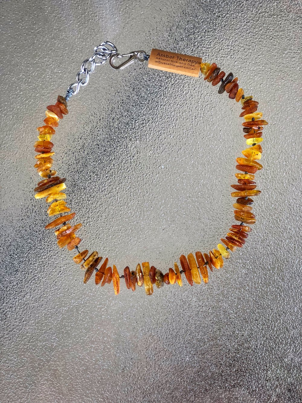 Baltic Amber Collar by  Amber Therapy