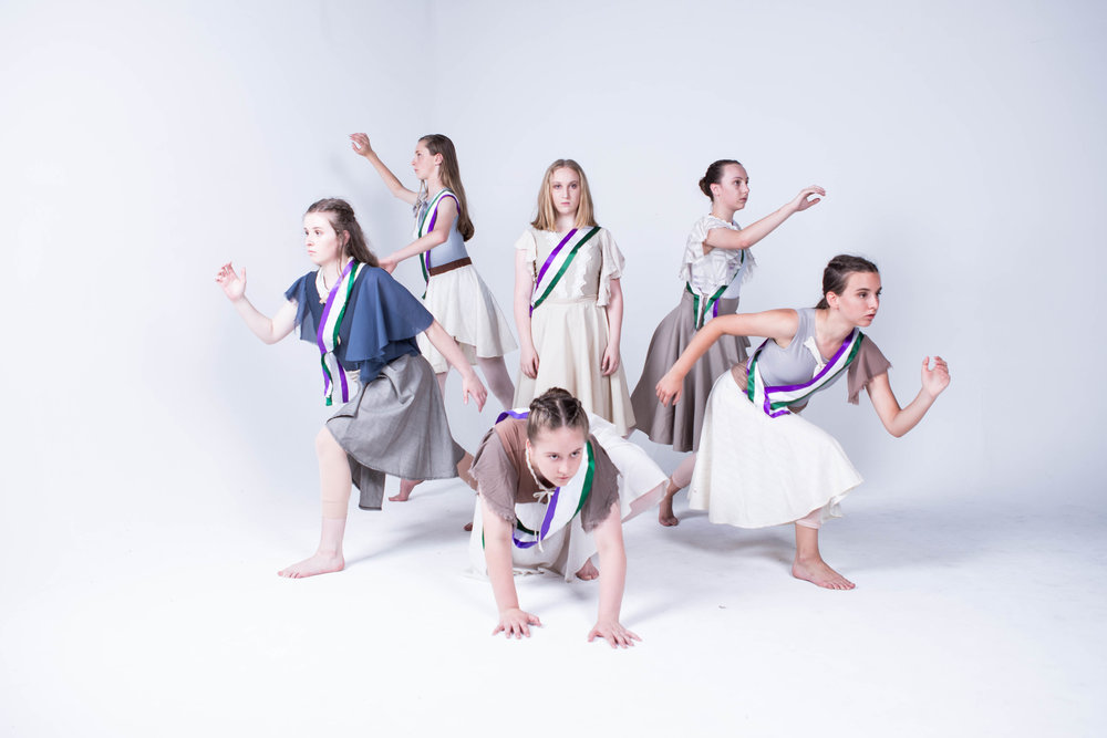 Shatter - Shatter is a full-length contemporary dance work about the British Suffragettes performed to a live orchestra.