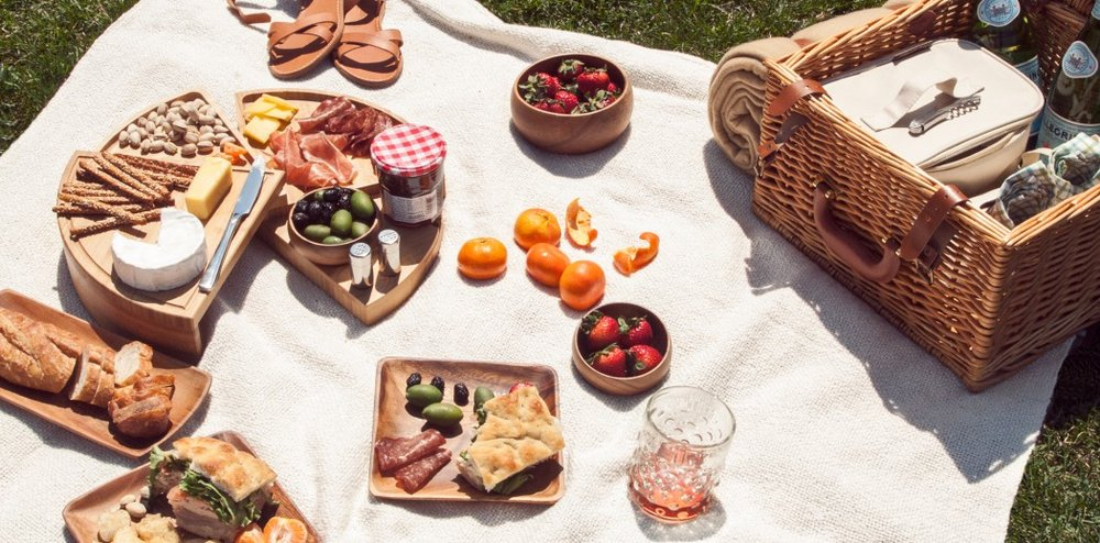 BYO picnic rugs, pillows, blankets, chairs and food -