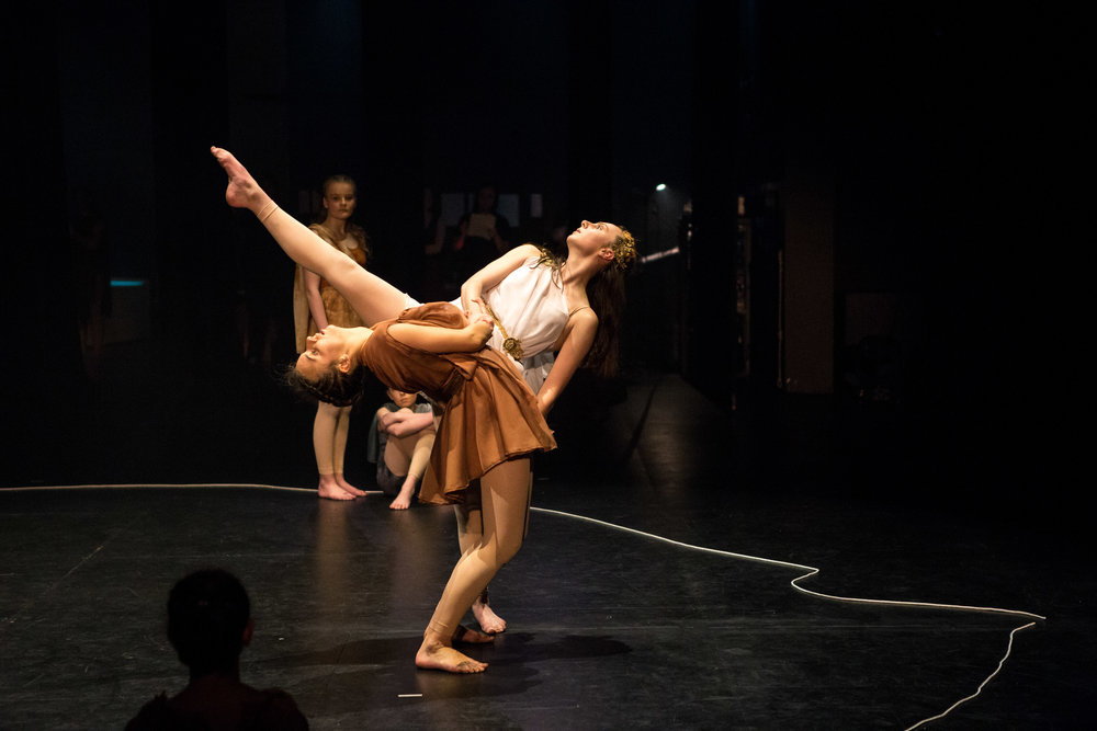 """- """"Totally absorbing. Music and movement so well coordinated. The spirit of the myth was so wonderfully portrayed.""""- Audience Member"""