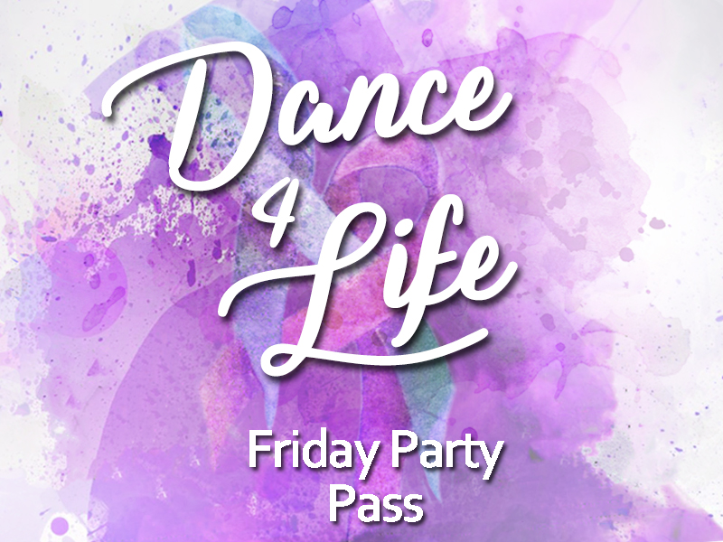 Friday Party Pass  €10  Paid at the door
