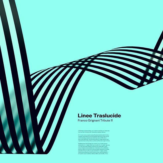 Franco Grignani tribute 11 . . . #francogrignani #opart #optical #art #ribbon #translucent #lines #3d #posterdesign #digitalposter #plakat #affiche #graphicdesign #designeverywhere #designinspiration #collectgraphics #selectedwork #visualgraphc #visual #design #visualdesign #tribute #italiandesign
