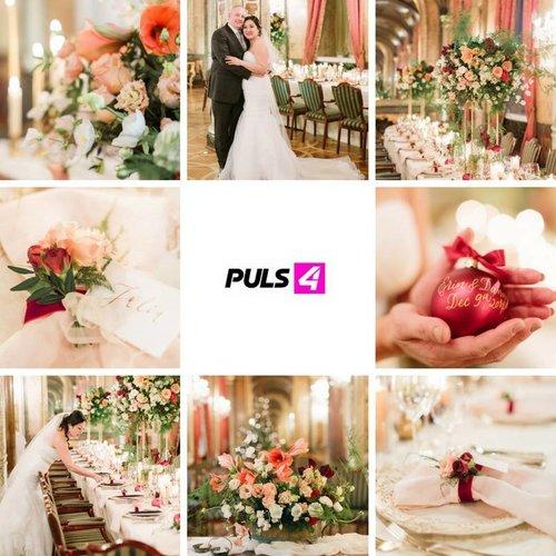 Сказочная зимняя свадьба в отеле Империал в Вене Австрия, организованная Highemotionweddings и представленная на австрийском телевидении Plus 4