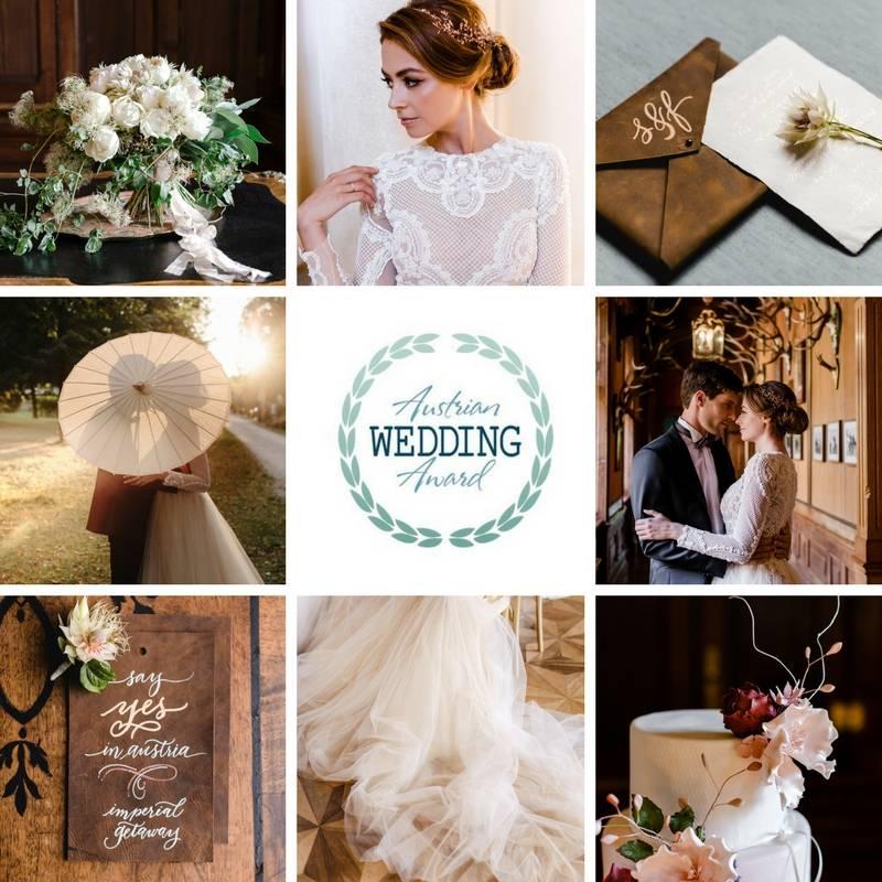 Highemotionweddings победитель конкурса лучшей вдохновительной фотосъёмки года Austrian Wedding Award 2018. Вдохновение имперская роскошная свадьба замок Эккартзау