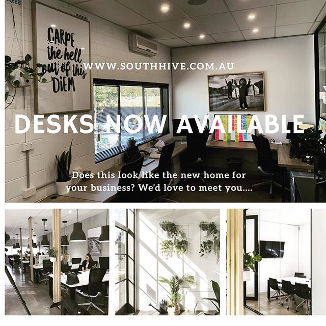 We have been a full house at South Hive coworking for the past 10 months but we now have limited availability. Are you looking for a new home for your business?....we'd love to meet you.  www.southhive.com.au #southhivehub #southmelbourne #coworkingmelbourne #albertpark #portmelbourne