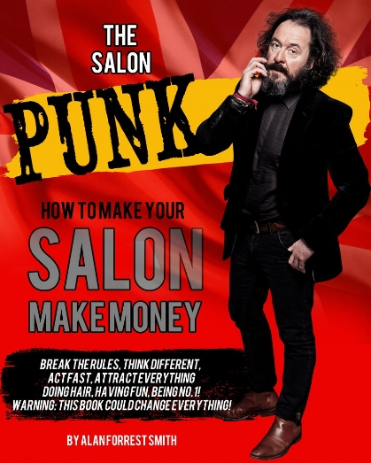 The Salon Punk is a Business Experience Book, Published September 2018