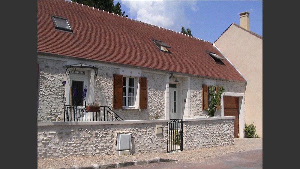 Extension d'une maison à Méré (Yvelines) France. Atelier Messaoudi architecture aménagement et design. Bureau d'étude Algérie.