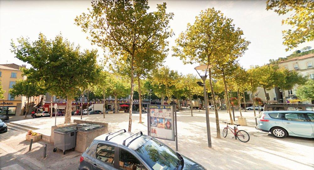Aménagement urbain Les Vans France. Atelier Messaoudi architecture aménagement et design. Bureau d'étude Algérie.