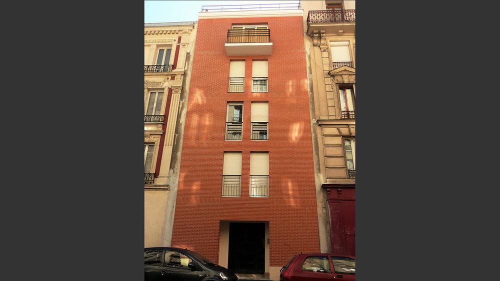 Logement collectif Saint Denis. Atelier Messaoudi architecture et aménagement. Bureau d'étude Algérie.