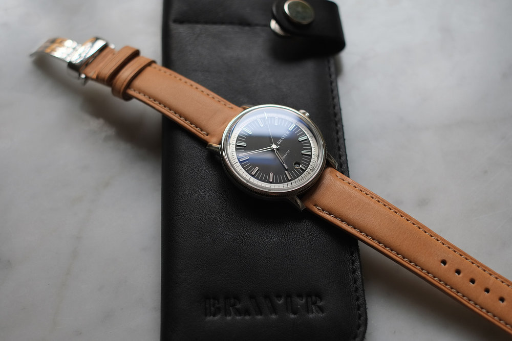 STRAPS - The choice of strap affects the overall appearance of the watch dramatically. Our leather straps are made from organic leather, from Sweden or Italy, produced without the use of chemicals or chrome.Swedish tannery Tärnsjö Garveri has a 140 year history of producing leather. Our Italian supplier is a small family-owned company, based on the Tuscan countryside.